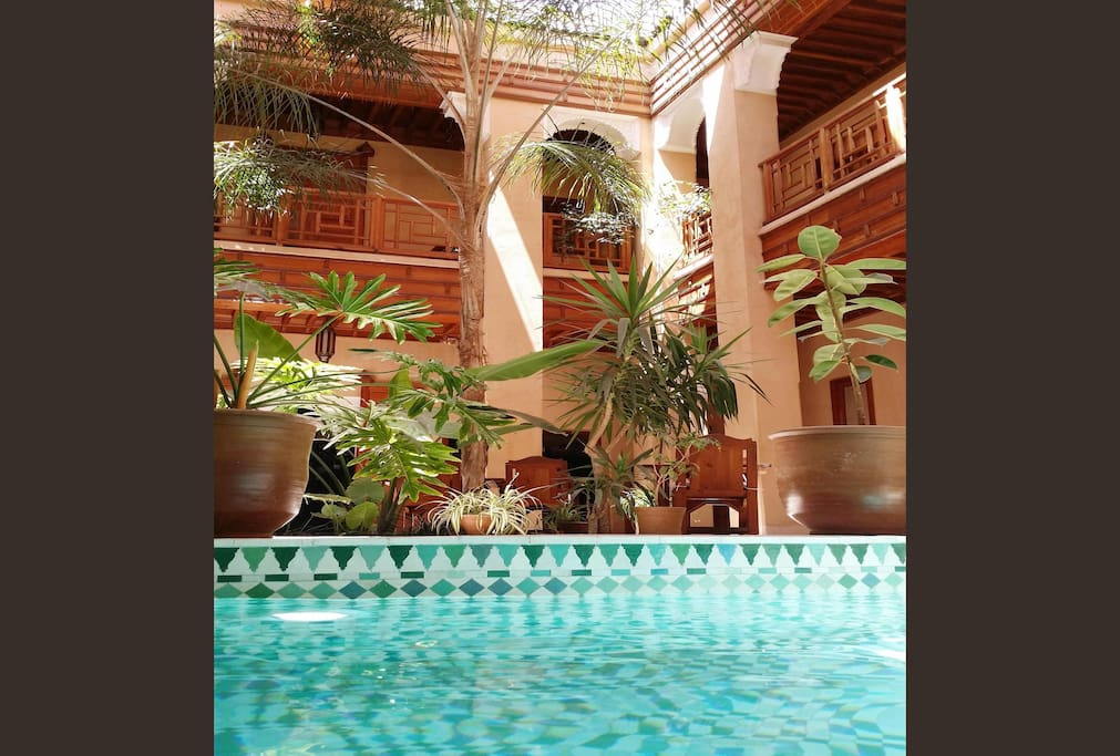 Hotel Riad Marrakech medina with Spa Swimming Pool Al Ksar 1