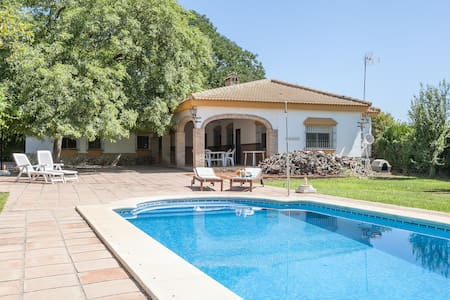 Great villa with pool near Seville - Sevilla - House