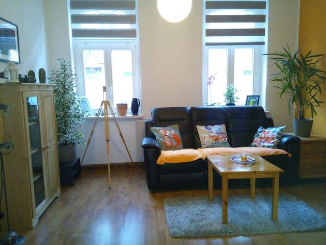 Moderne und preiswerte Wohnung südlich von Leipzig