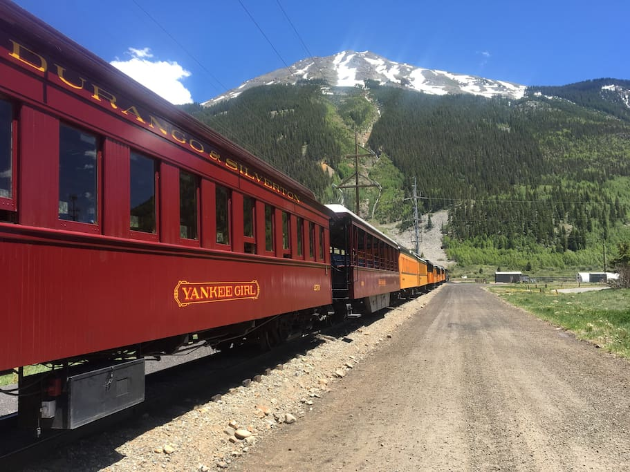 Durango's do not miss train to Silverton.