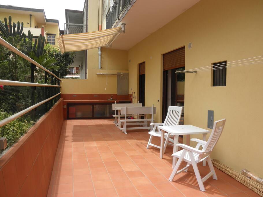 Private courtyard/ Cortile