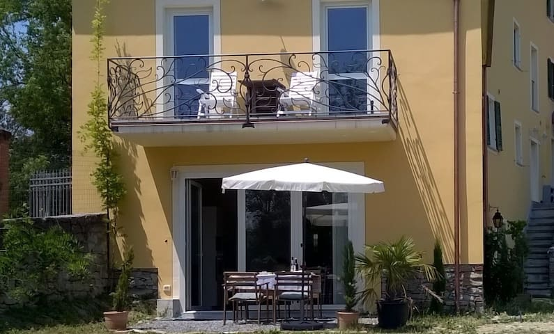 Relaxinitaly: panoramic location,30mins from Genoa - Guardia - Daire