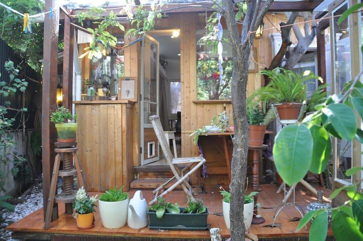Almada Comfy Cabin with Garden - Almada - Stuga