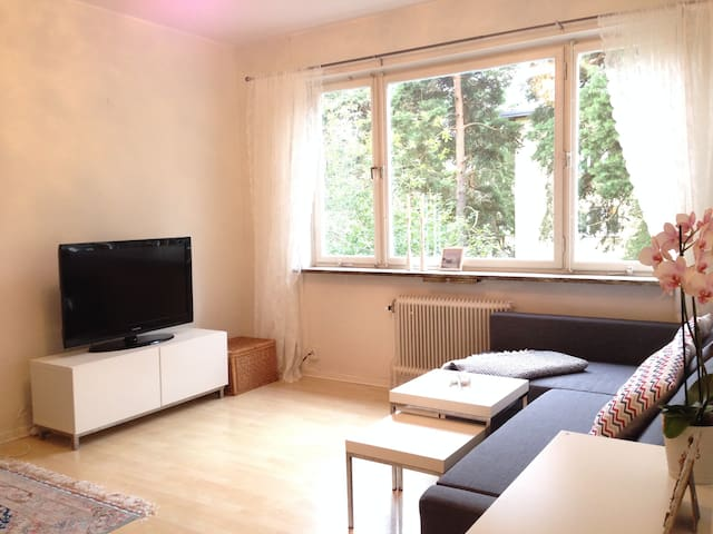 Apt. close to city in green area - Stockholm - Apartment