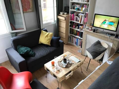Appartement de charme dans le quartier Mazarin