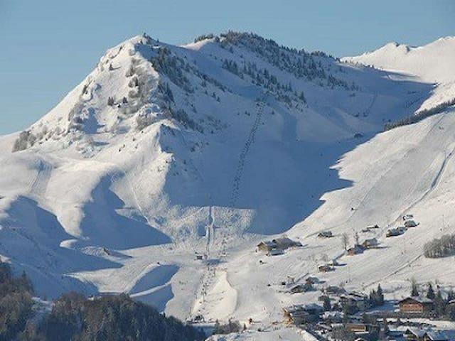 Le domaine skiable alpin