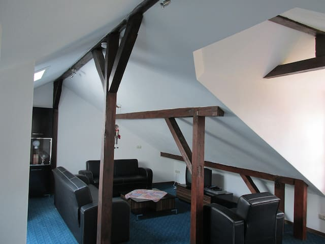 Charming 2 room loft with pantry, bathroom & WC - Königstein im Taunus - Apto. en complejo residencial