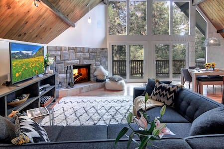 Designer Winter Retreat.  Sleeps 12 - Lake Arrowhead - Ev