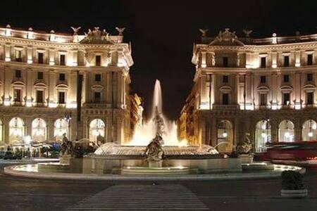 affascinante casa nel cuore di roma