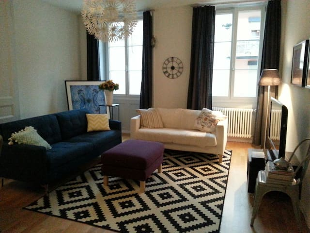 Large Cosy flat in the city centre (old town) - Neuchâtel - Apartamento