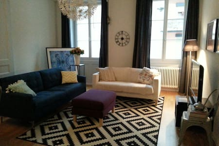 Cosy comfortable flat in the city - Neuchâtel - Apartment