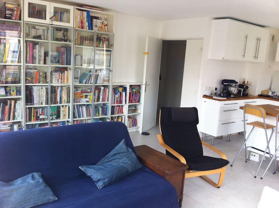 2 bedrooms apartment 80m2 3 persons appartamenti in for Garage costa marseille