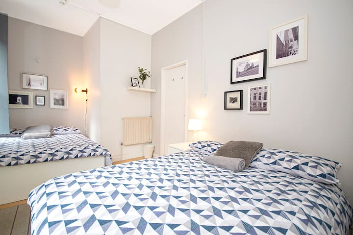 BL1 10% OFF Long stays | Room Heart of Brick Lane