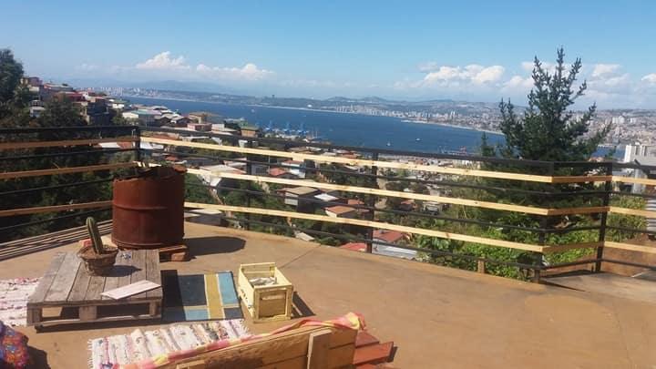 Casa Mirador Playa Ancha...lectura y caminata