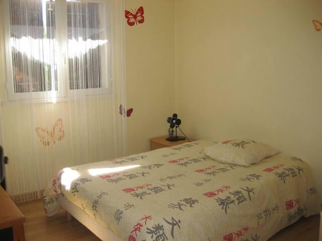 Chambre avec SDB + WC + Vue exceptionnelle - Castres - Rumah