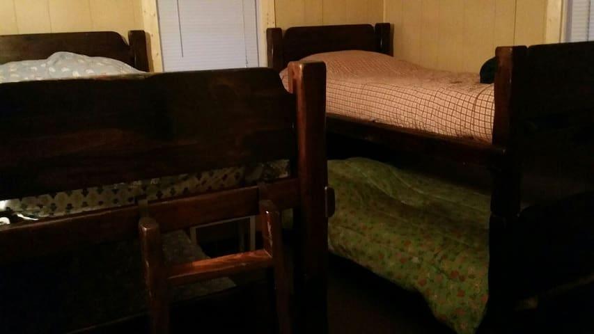 Bedroom 5 - double bunk beds