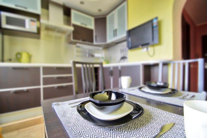 Дизайнерские Апартаменты / Green Apple