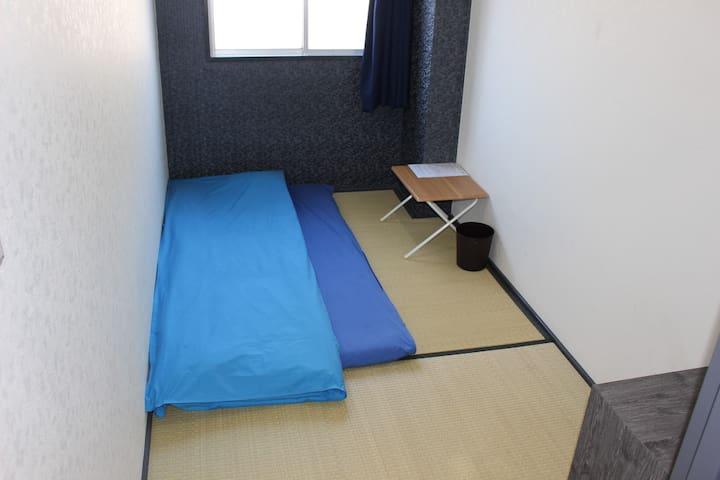 Japanese style single room