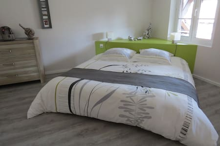2 adjoining rooms en-suite for 2 to 4(+baby)people - Zellwiller