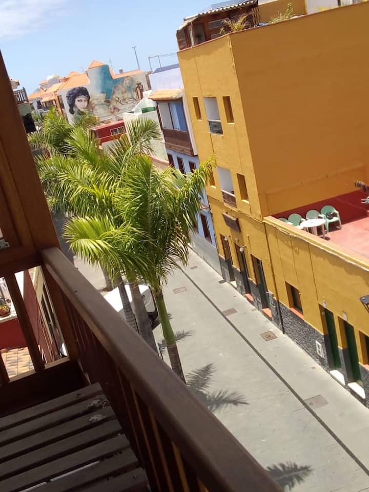 Magical apartment-old town Puerto de la Cruz, 60m2