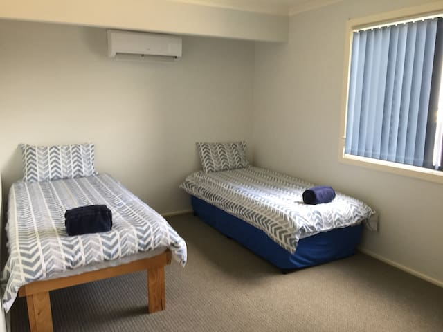 Top floor single beds