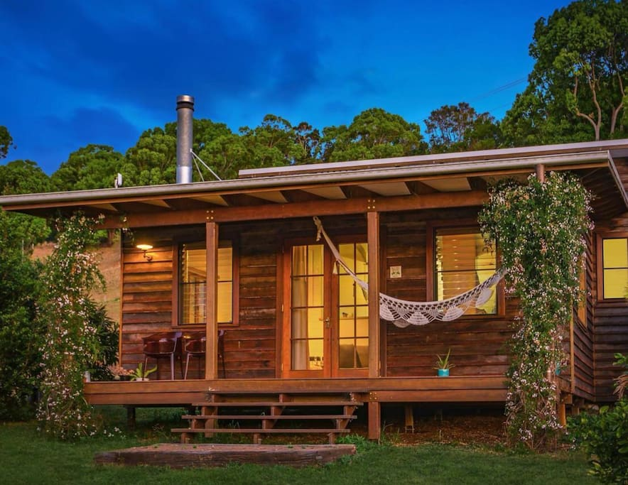 The Owl House is completely separate from the main house, so guests enjoy complete privacy.