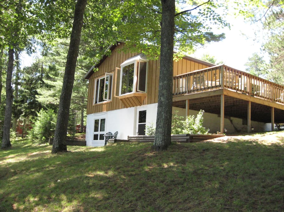 Brandy Lake Cabin Minocqua Woodruf Cabins For Rent In
