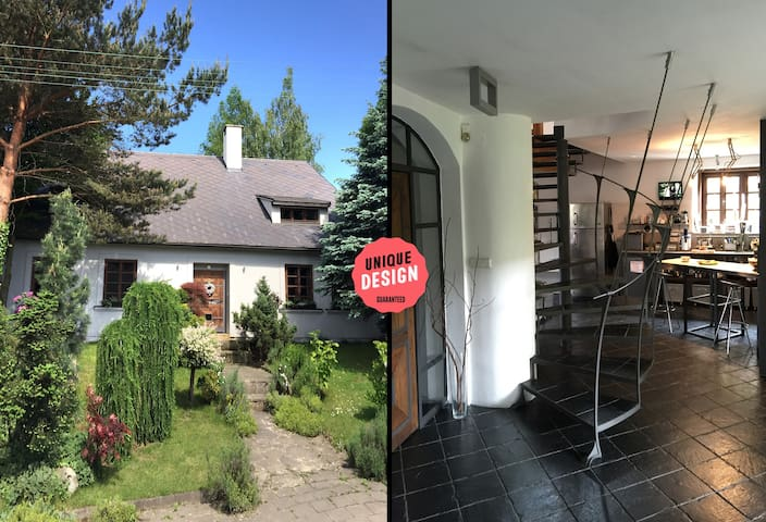 Design cool house with nice garden - Měřín