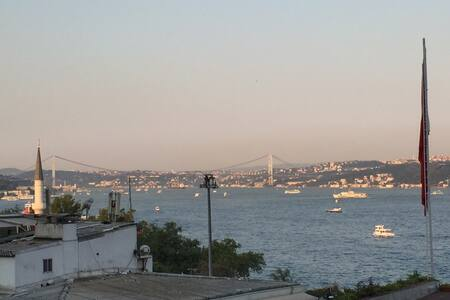 BOSPHORUS VIEW & BALCONY IN TAKSIM  - Istanbul