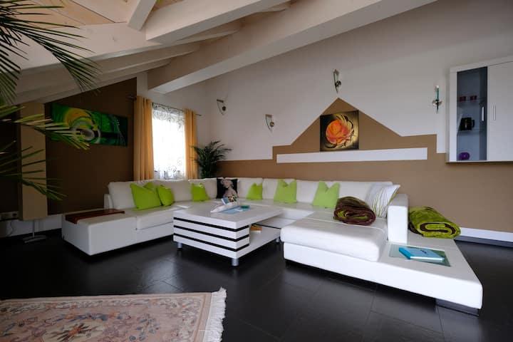 Große-Extravagante Wohnung im schönen Alläu