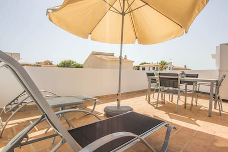 Covetes - Cozy little apartment on the beach - Ses Covetes - Appartement