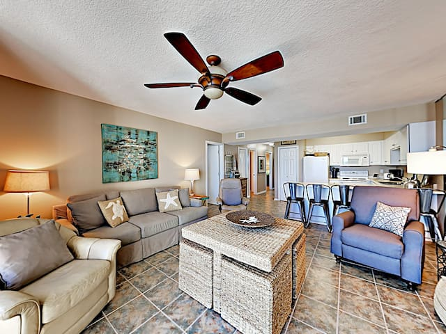 Seaside Beach & Racquet 5815 with Gorgeous Gulf Front Views!