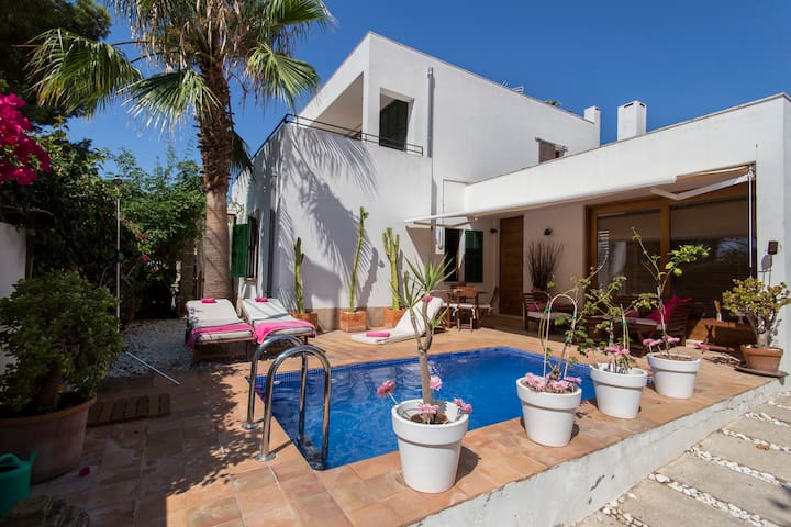 Cosy house next to Cala Mayor beach - Palma de Mallorca - Talo