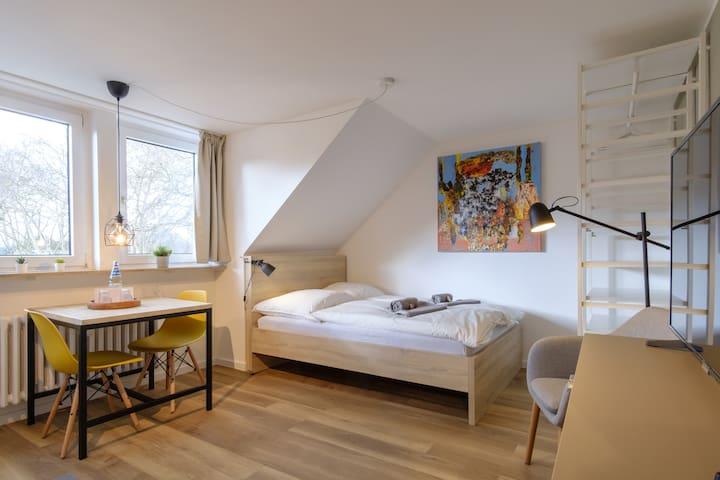 Ferienwohnung/App. für 2 Gäste mit 25m² in Duisburg (120202)