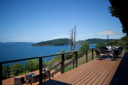 Panoramic View of San Juan Islands
