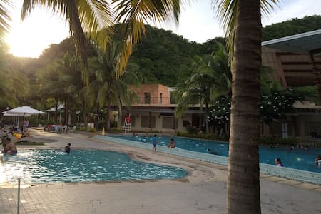 Pico de Loro Club/Hamilo Coast, beachfront condo.B - Maragondon - Appartement