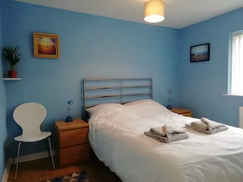 Bright,modern flat in Harlech.