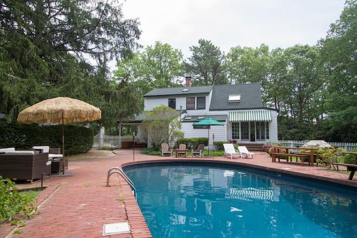 Charming Hamptons Cottage - Hampton Bays - Casa