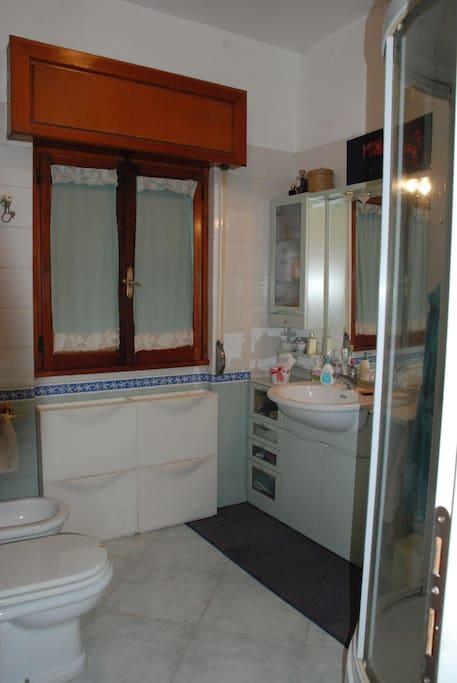 l'interno del bagno