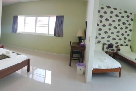 Family Room, Mountain view,4 Person - ตำบล ปากน้ำปราณ, ประจวบคีรีขันธ์, TH - Penzion (B&B)