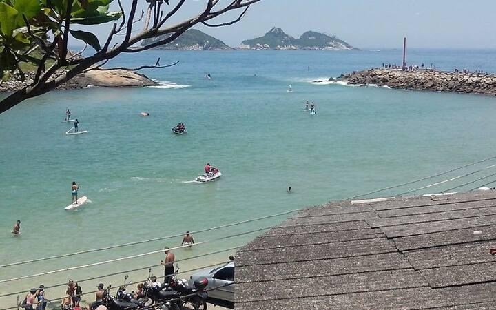 Local seguro na Praia da Barra da Tijuca