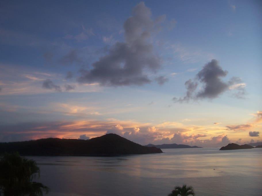 Sunrise in St. Thomas