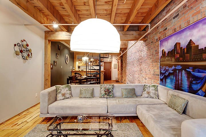 LOFT IN OLD MTL'S BEST KEPT SECRET - Montreal - Leilighet