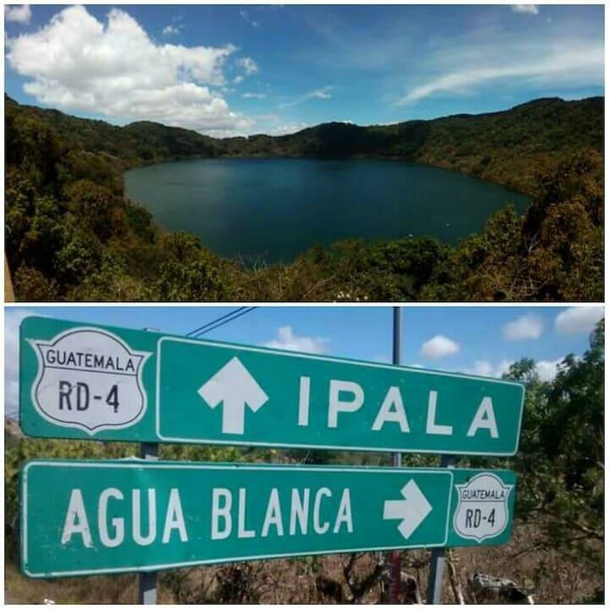 Ipala's volcano & lagoon