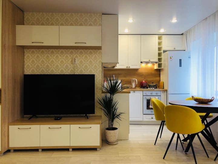 Современная семейная квартира на острове Ягры