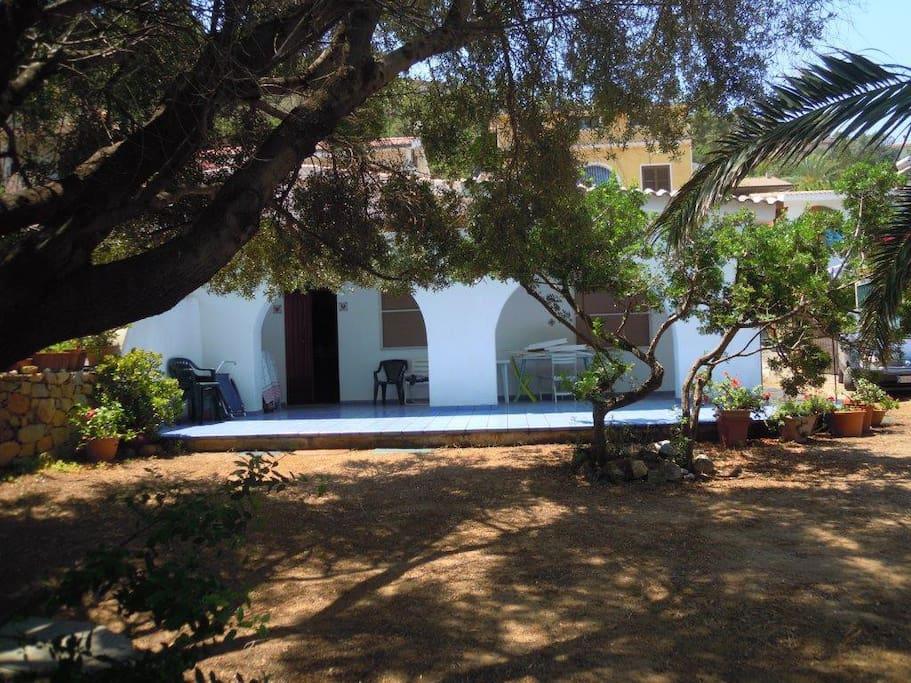 La casa con la veranda