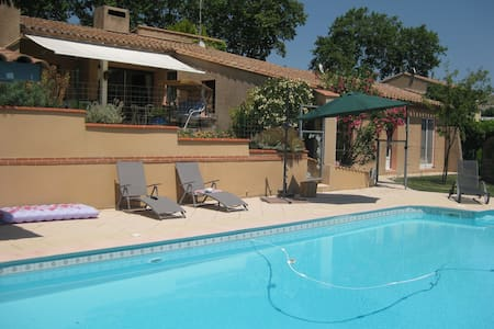 Maison de caractère avec piscine - Belvèze-du-Razès - Rumah