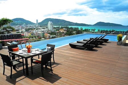 Amazing View Point in Patong ! - Patong - Leilighet