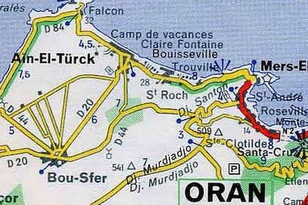 Location estivale Ain el Turck - Apartment