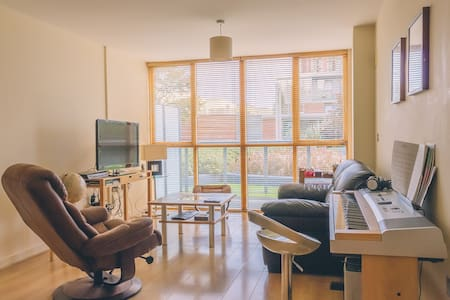 Cosy 1 Bed Apt in Silicon Docks! - Dublin, County Dublin, IE - Apartment